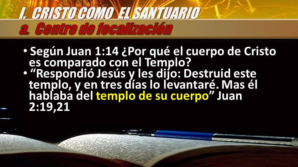 I. CRISTO COMO EL SANTUARIO