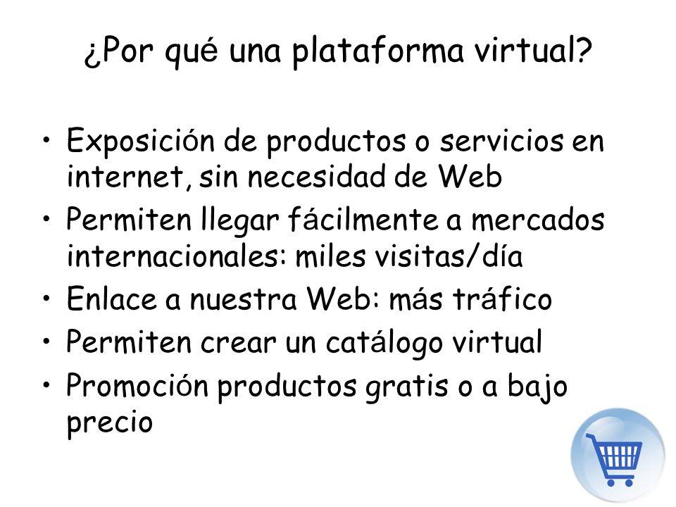 ¿Por qué una plataforma virtual
