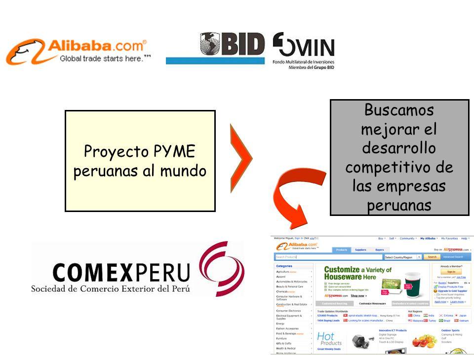 Buscamos mejorar el desarrollo competitivo de las empresas peruanas