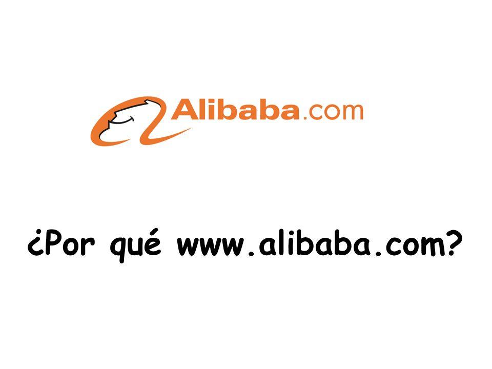 ¿Por qué www.alibaba.com