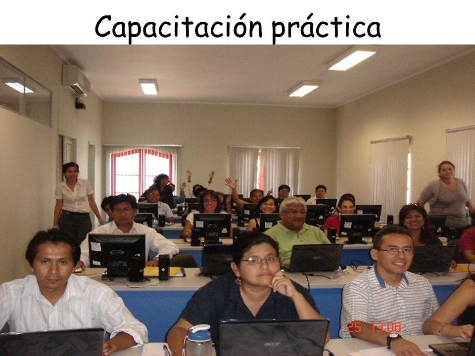 Capacitación práctica