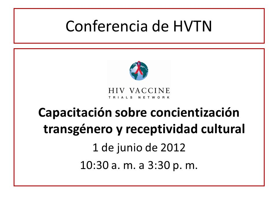 Capacitación sobre concientización transgénero y receptividad cultural