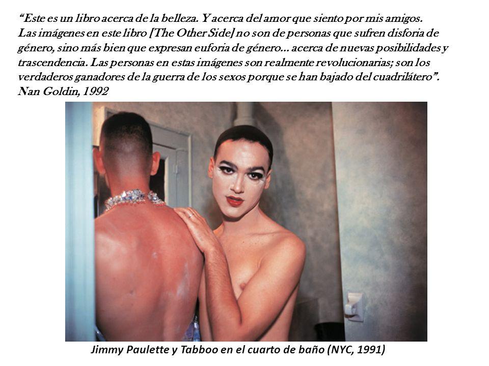 Jimmy Paulette y Tabboo en el cuarto de baño (NYC, 1991)