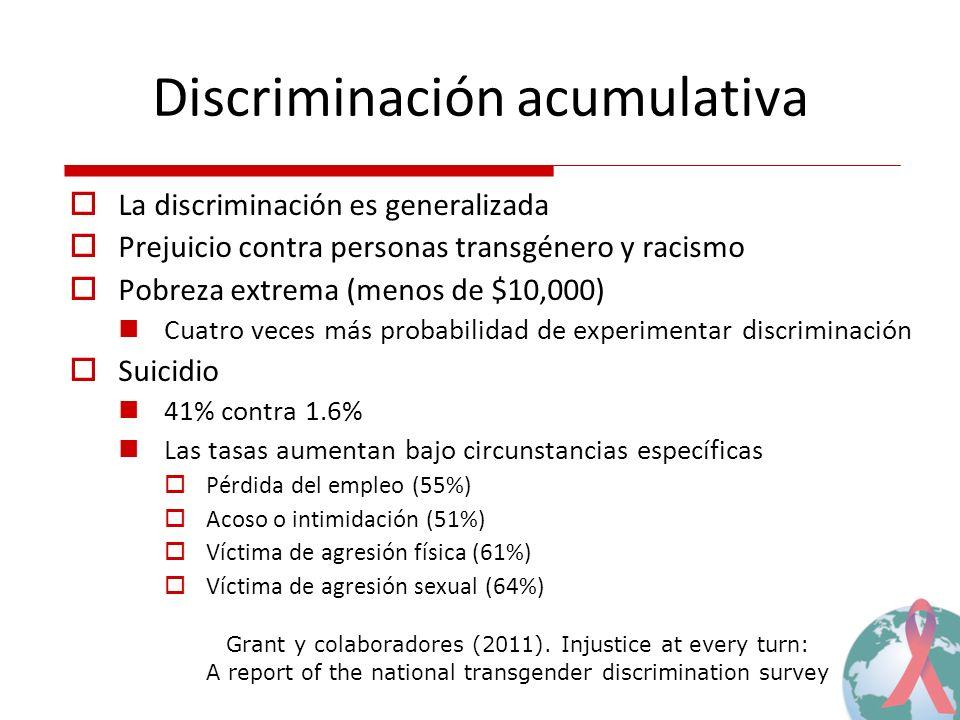 Discriminación acumulativa