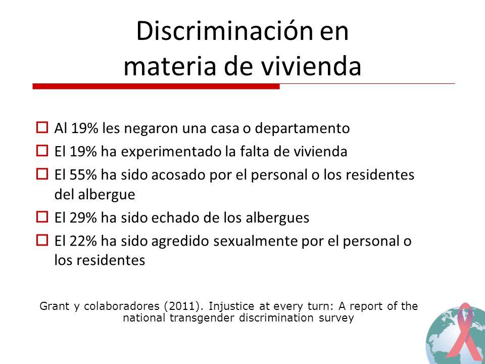 Discriminación en materia de vivienda