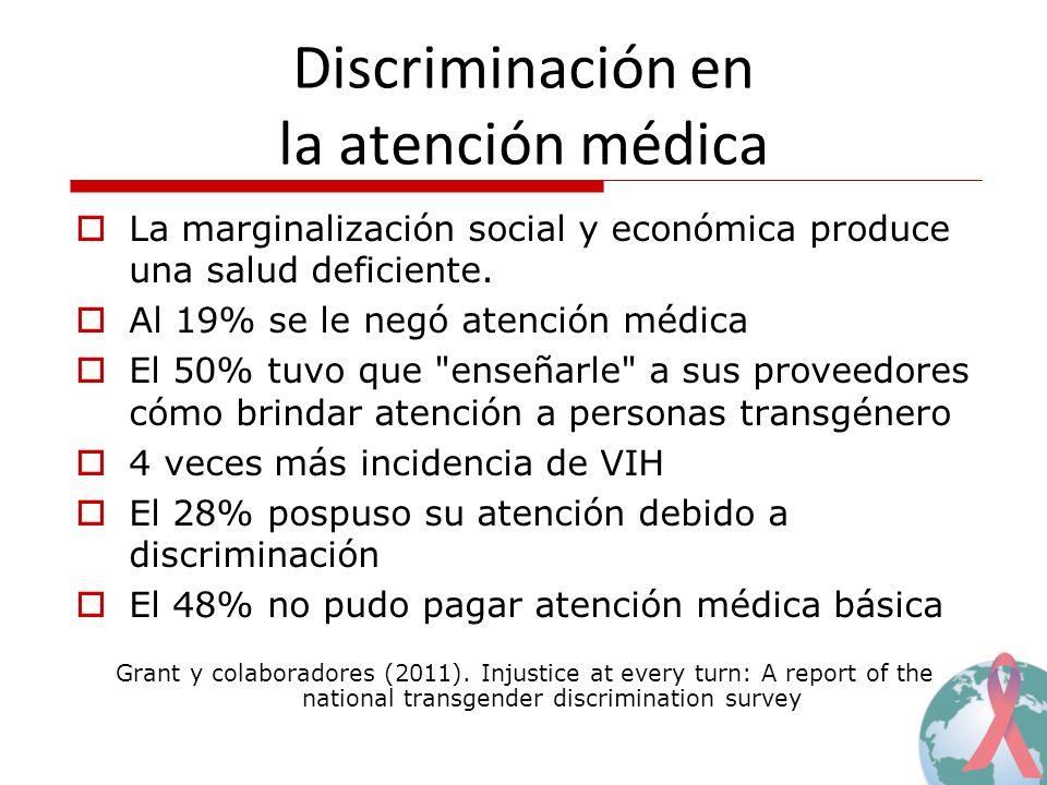 Discriminación en la atención médica
