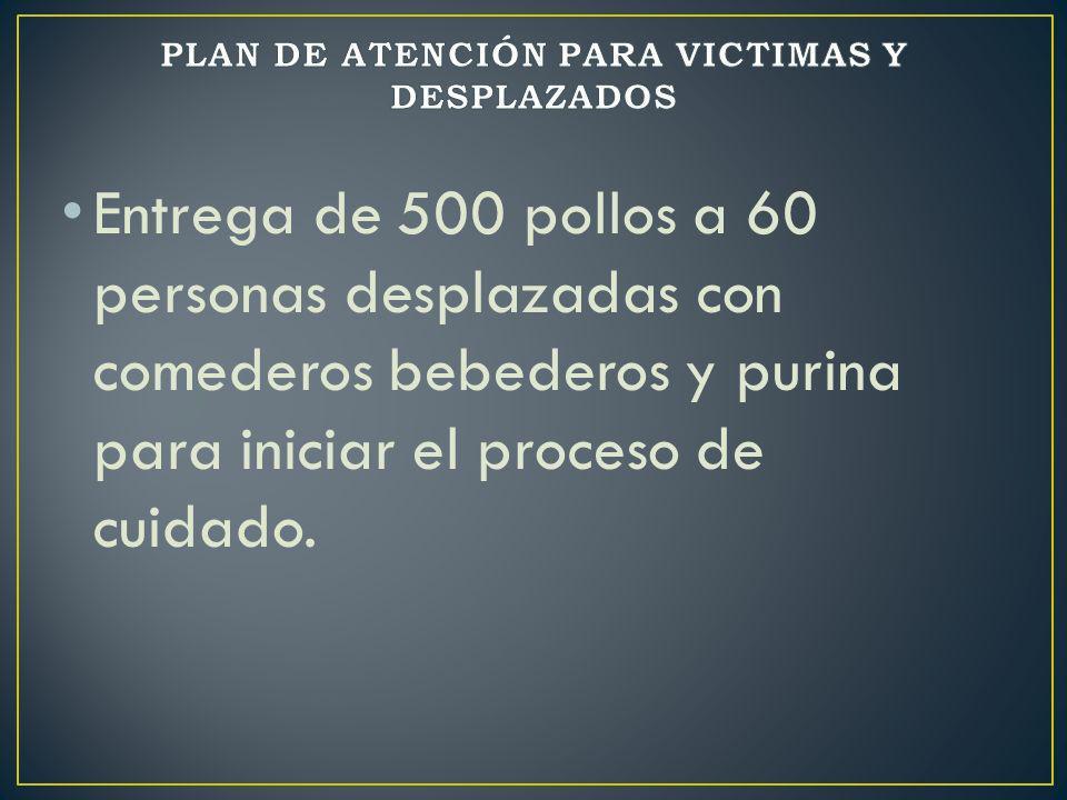 PLAN DE ATENCIÓN PARA VICTIMAS Y DESPLAZADOS