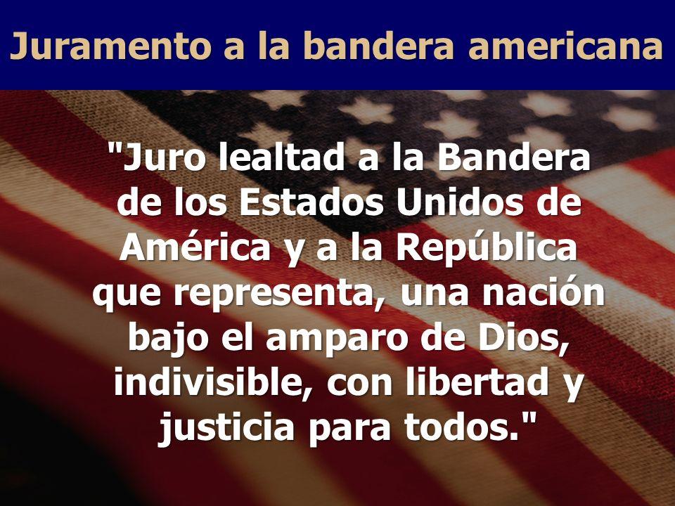 Juramento a la bandera americana
