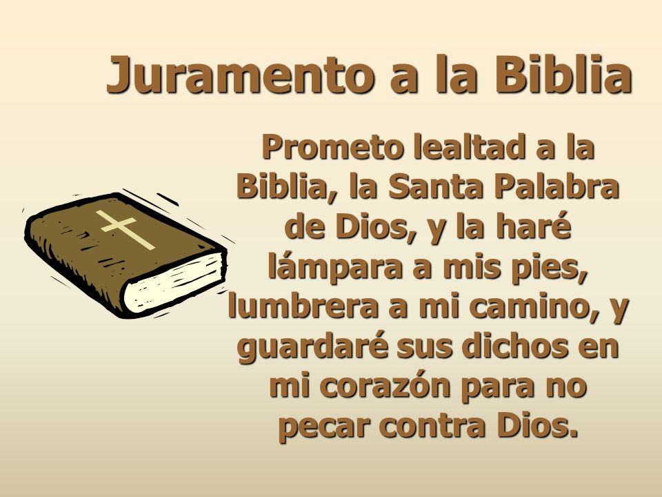 Juramento a la Biblia