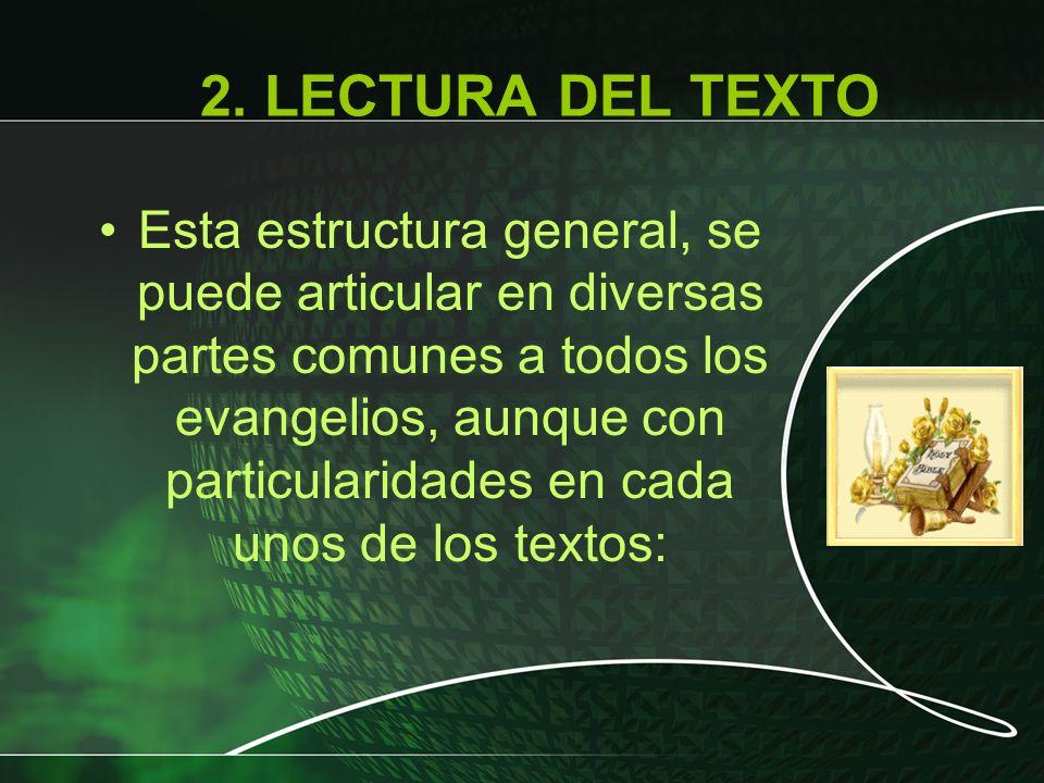 2. LECTURA DEL TEXTO