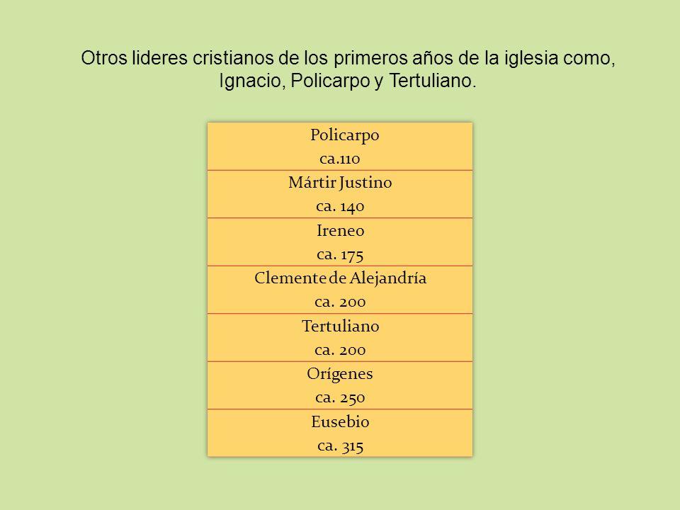 Clemente de Alejandría ca. 200