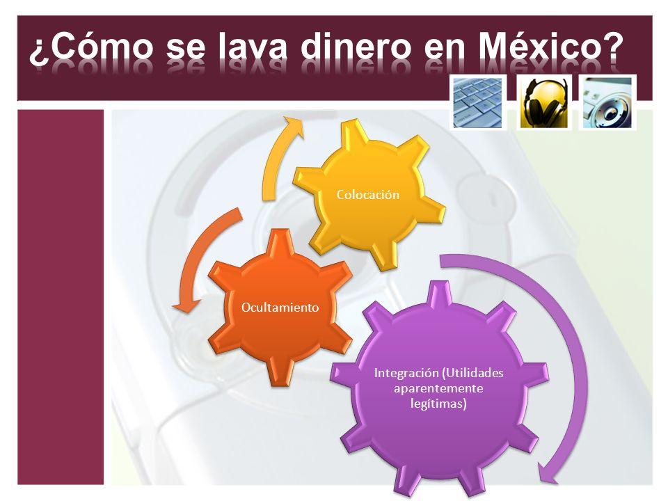 ¿Cómo se lava dinero en México