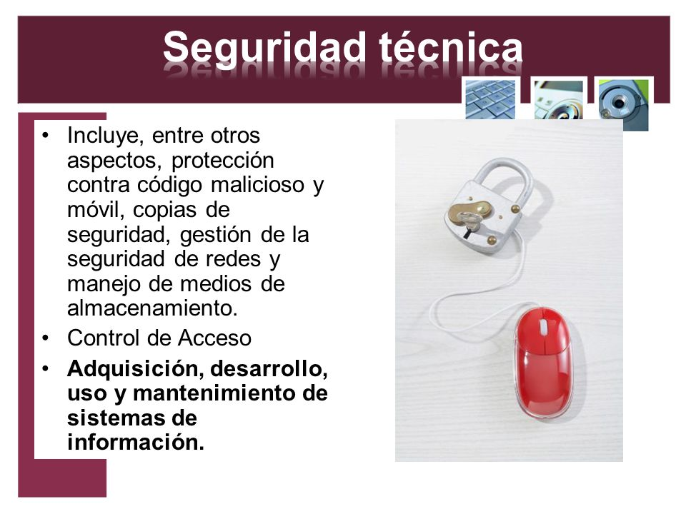 Seguridad técnica