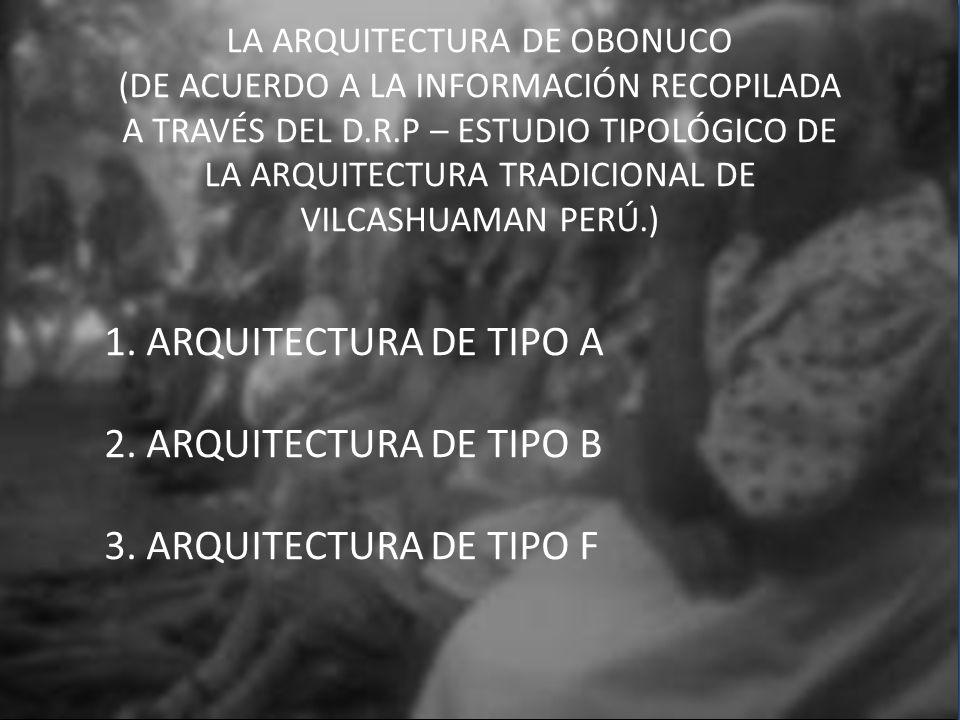 LA ARQUITECTURA DE OBONUCO