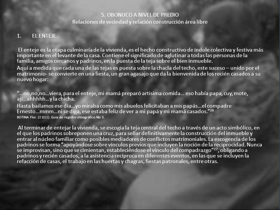 5. OBONUCO A NIVEL DE PREDIO