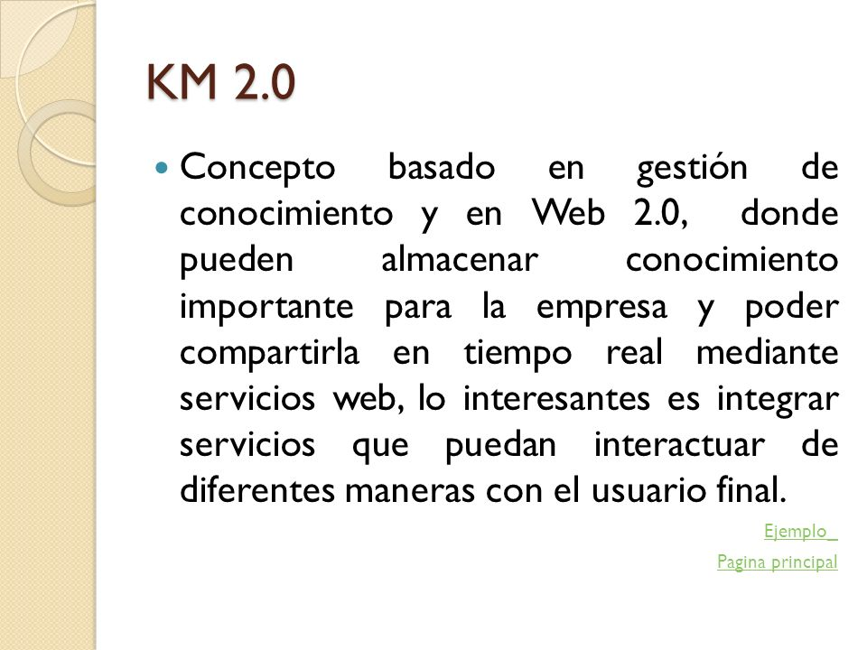 KM 2.0