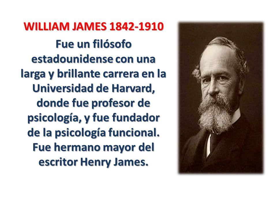 WILLIAM JAMES 1842-1910
