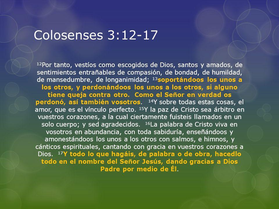 Colosenses 3:12-17