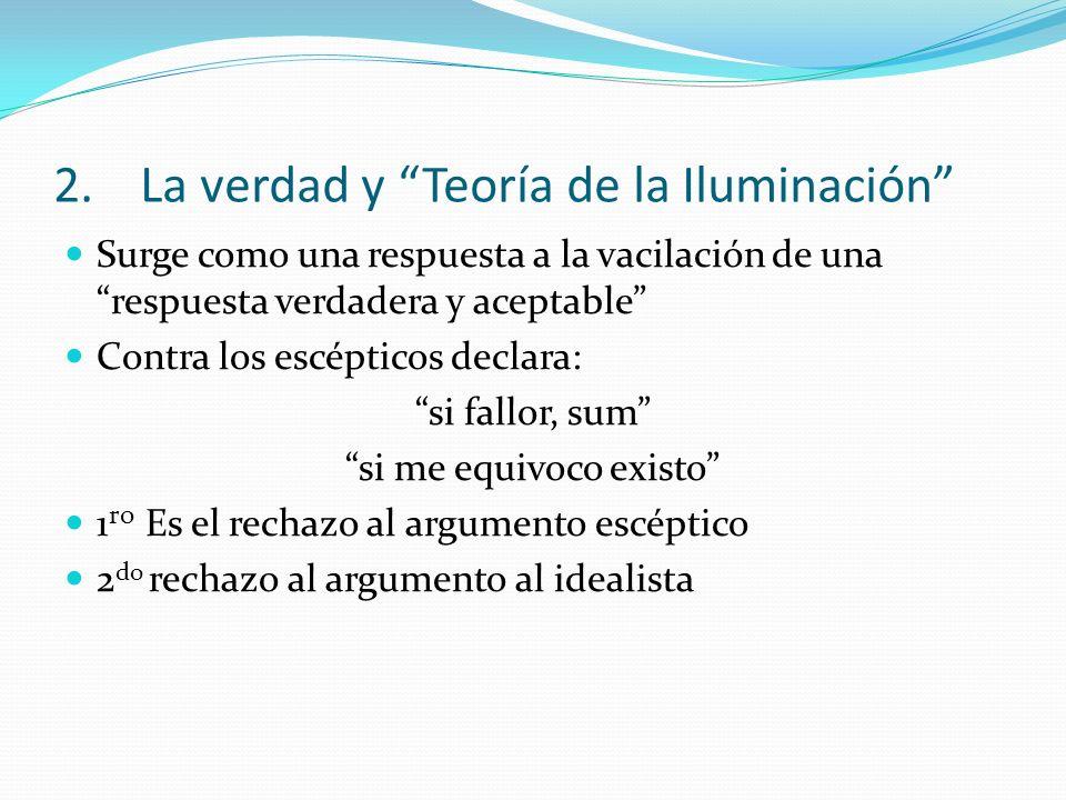 La verdad y Teoría de la Iluminación