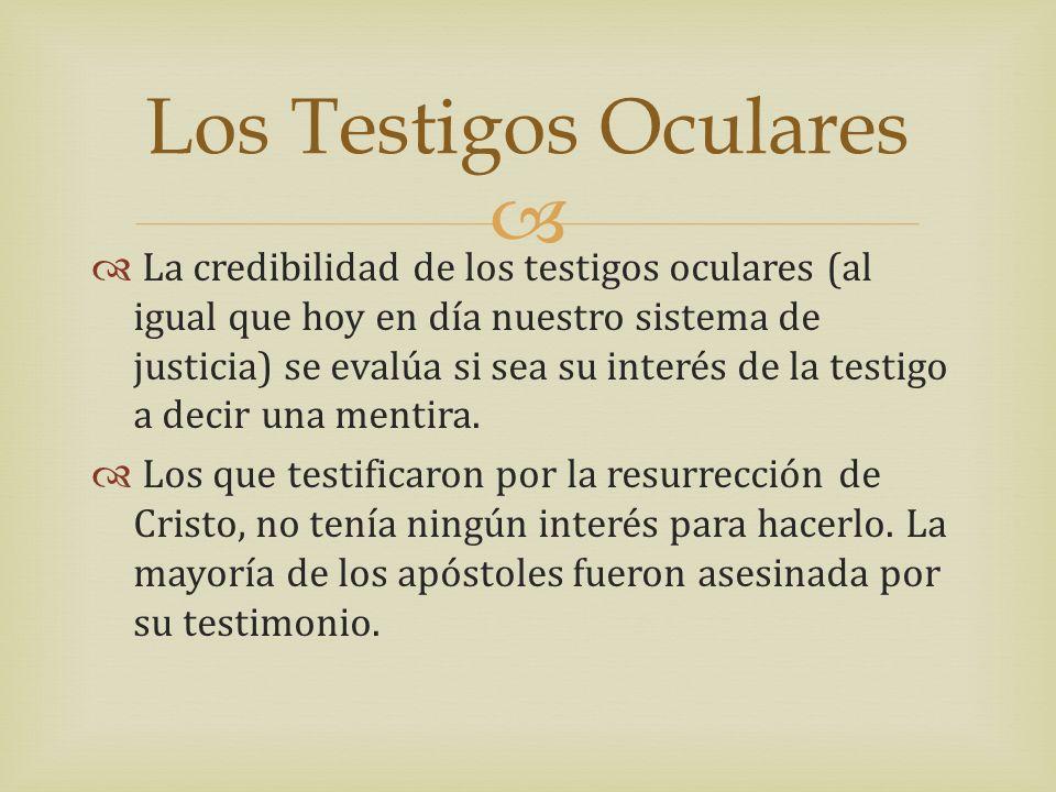 Los Testigos Oculares