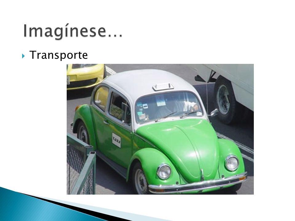 Imagínese… Transporte