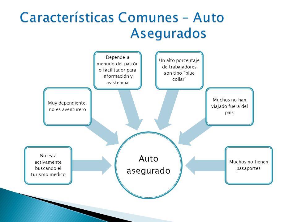 Características Comunes – Auto Asegurados