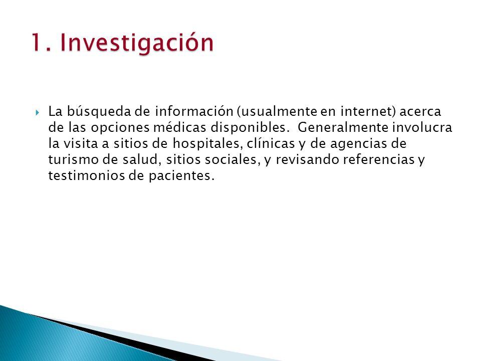 1. Investigación