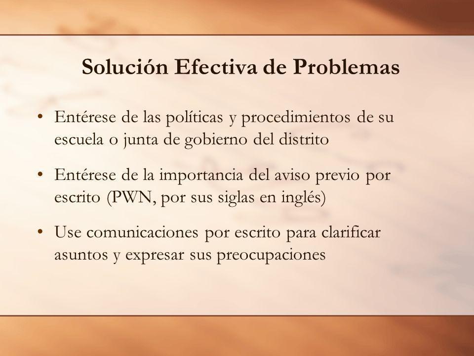Solución Efectiva de Problemas