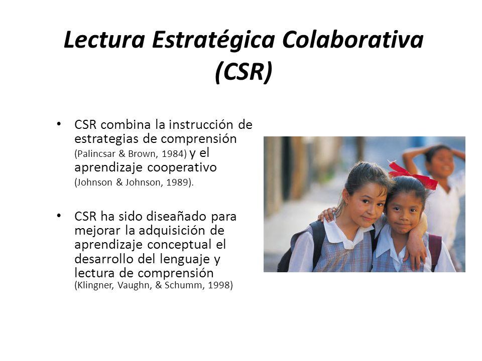 Lectura Estratégica Colaborativa (CSR)