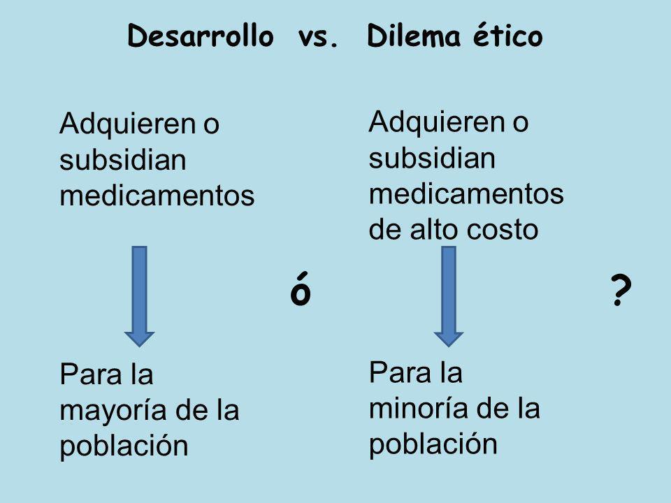 Desarrollo vs. Dilema ético