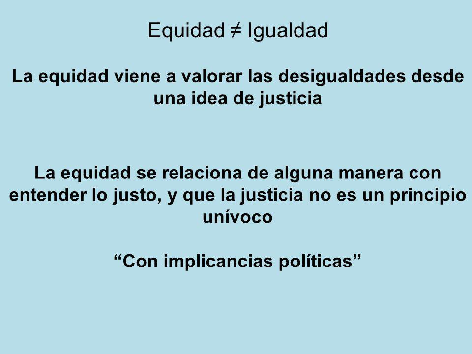 Con implicancias políticas