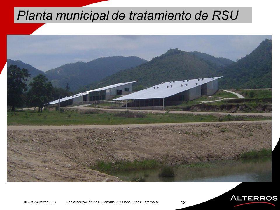 Planta municipal de tratamiento de RSU