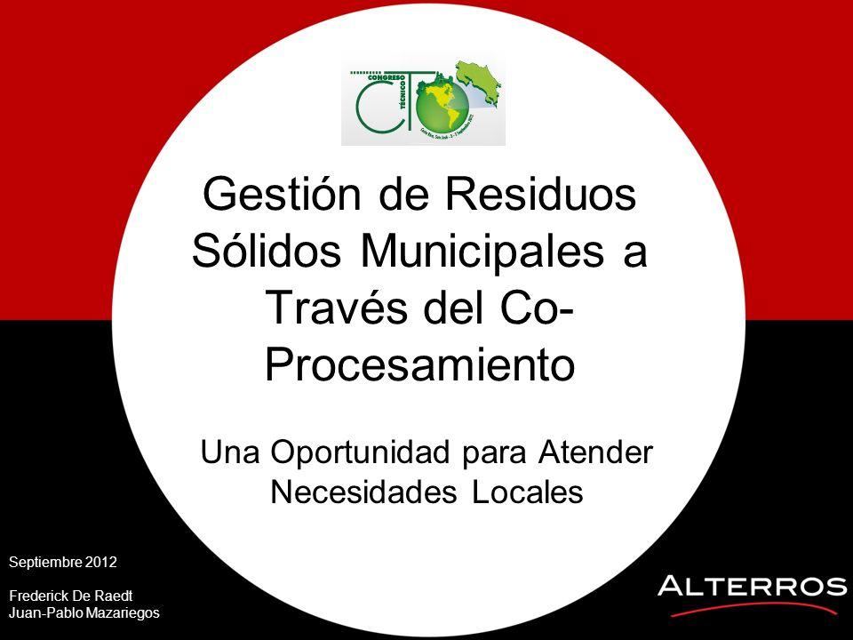 Gestión de Residuos Sólidos Municipales a Través del Co-Procesamiento