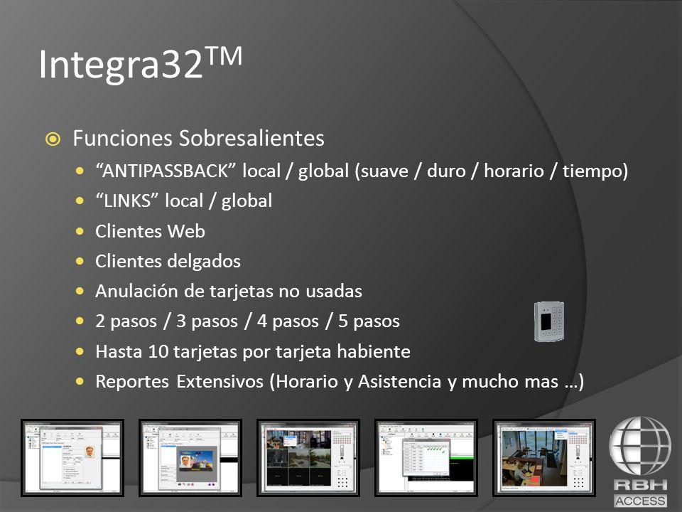 Integra32TM Funciones Sobresalientes