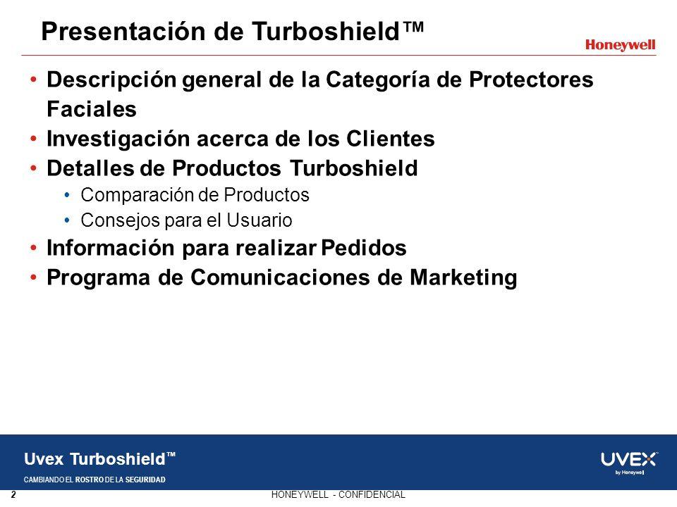 Presentación de Turboshield™