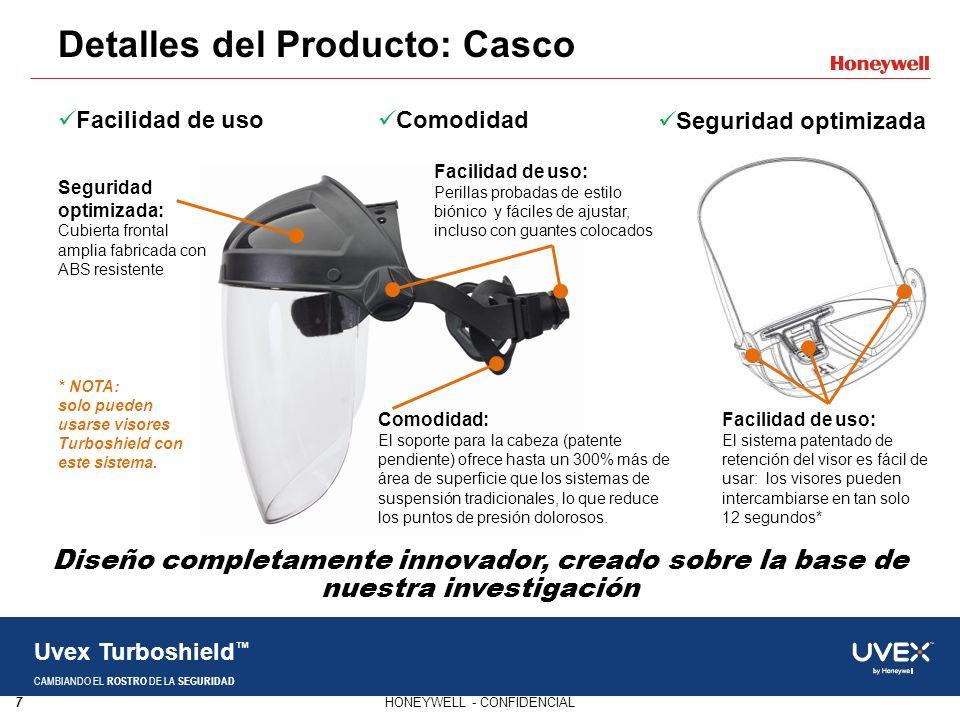 Detalles del Producto: Casco