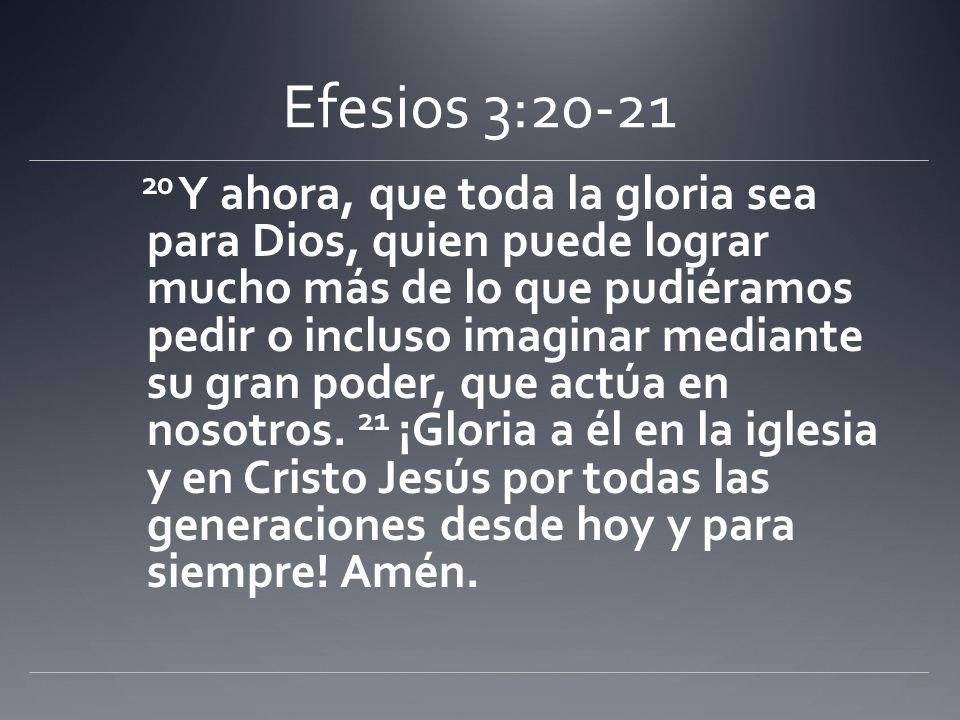 Efesios 3:20-21