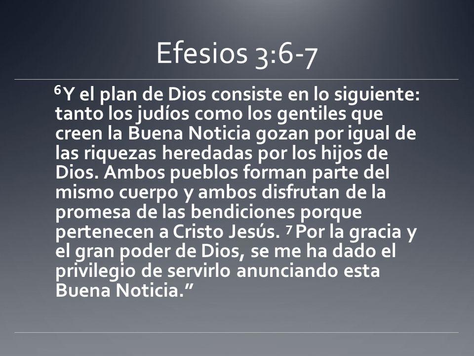 Efesios 3:6-7