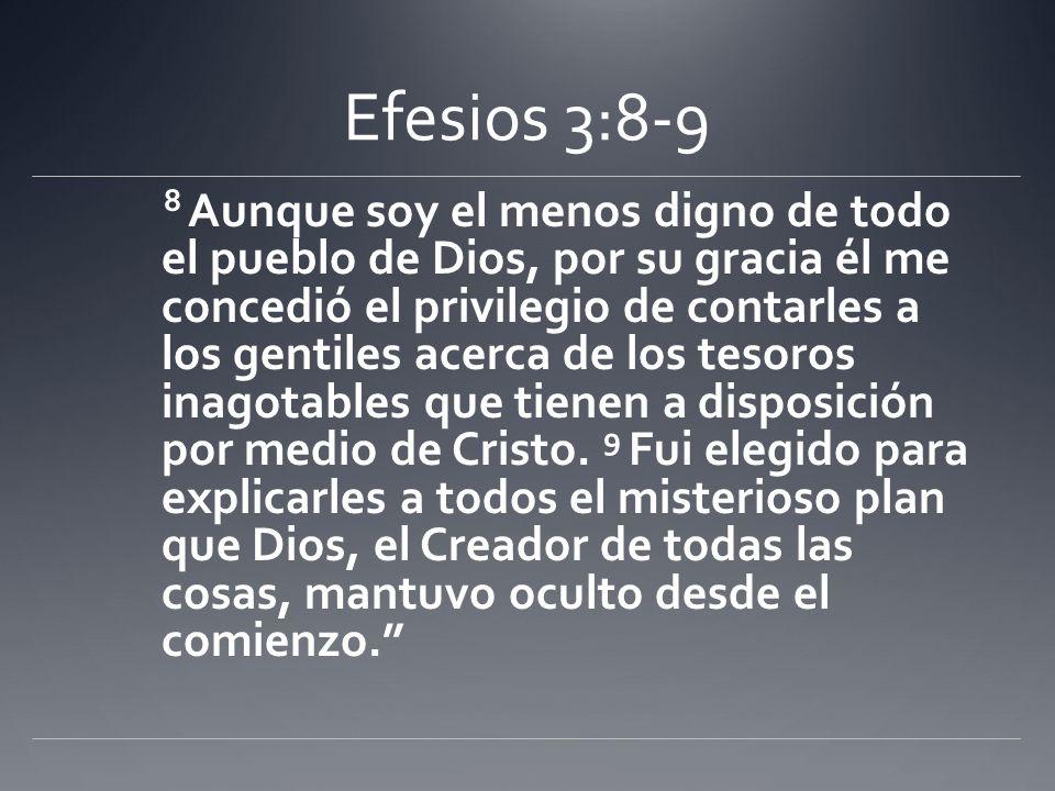 Efesios 3:8-9