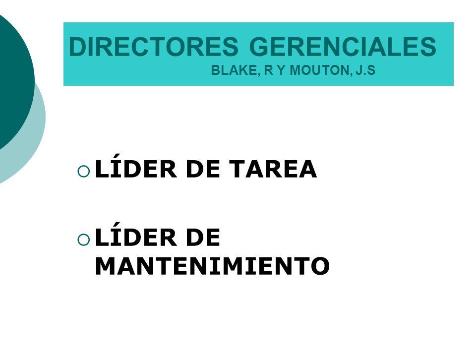 DIRECTORES GERENCIALES BLAKE, R Y MOUTON, J.S