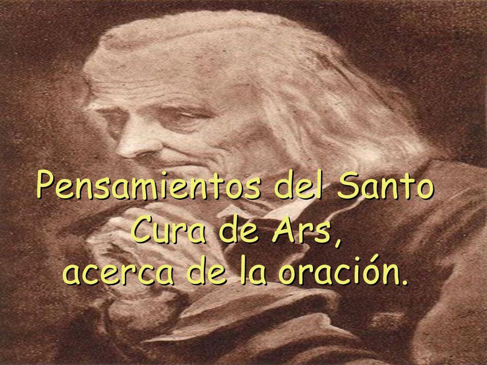 Pensamientos del Santo Cura de Ars,