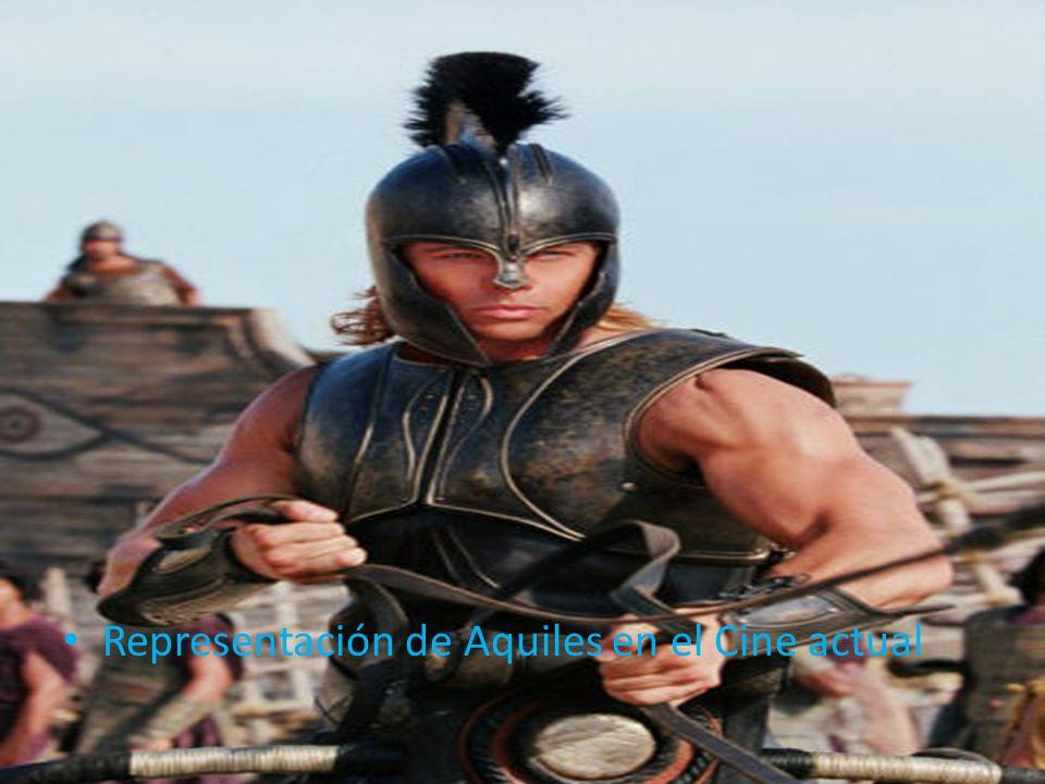 Representación de Aquiles en el Cine actual