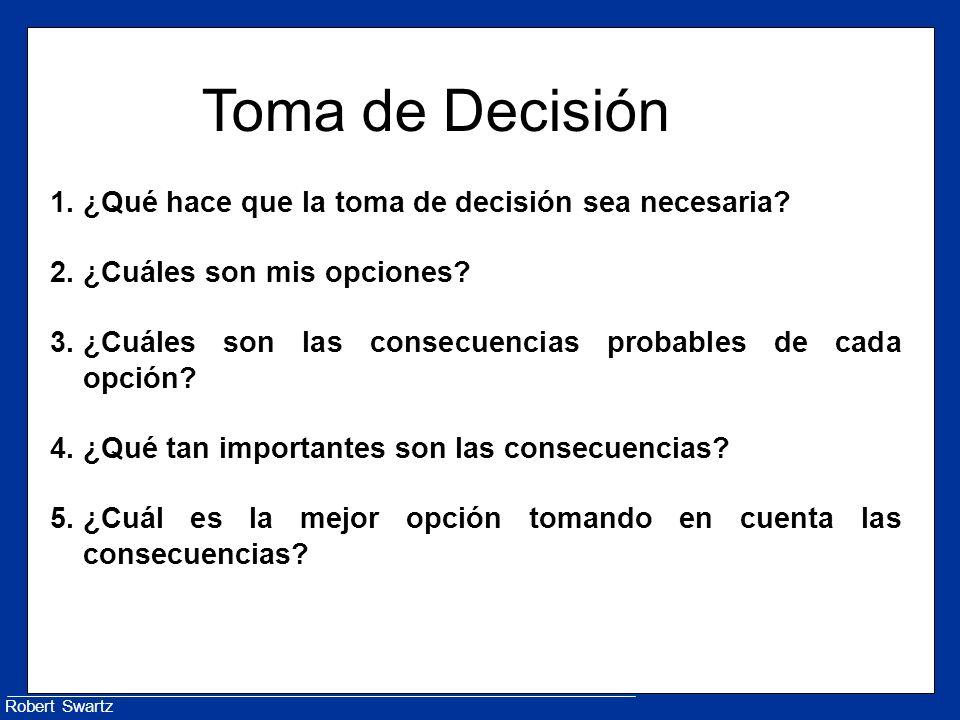 Toma de Decisión ¿Qué hace que la toma de decisión sea necesaria