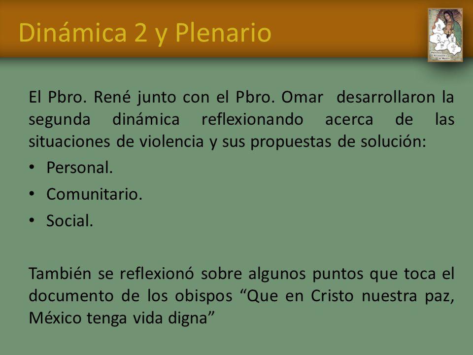 Dinámica 2 y Plenario