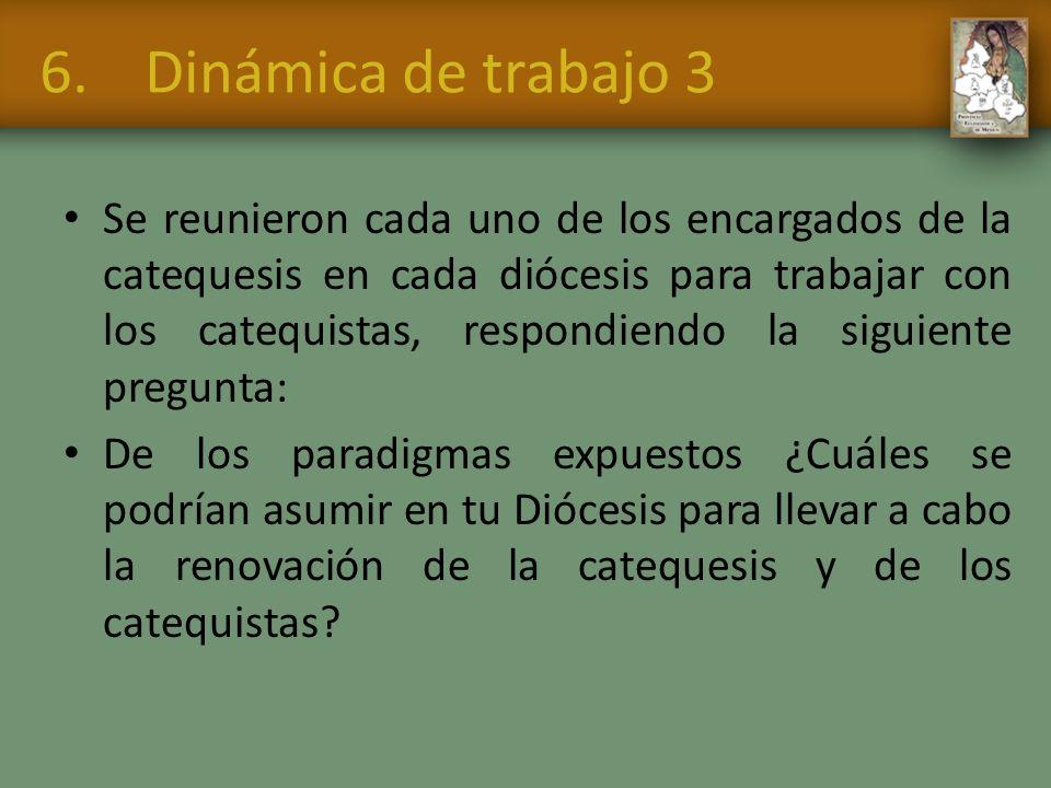 6. Dinámica de trabajo 3