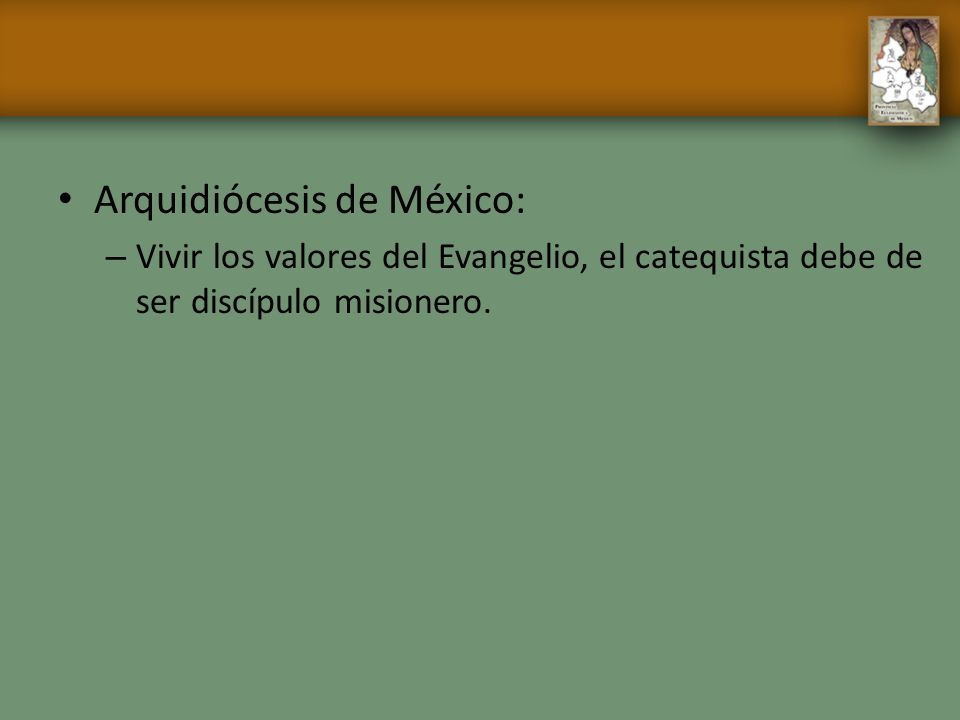 Arquidiócesis de México:
