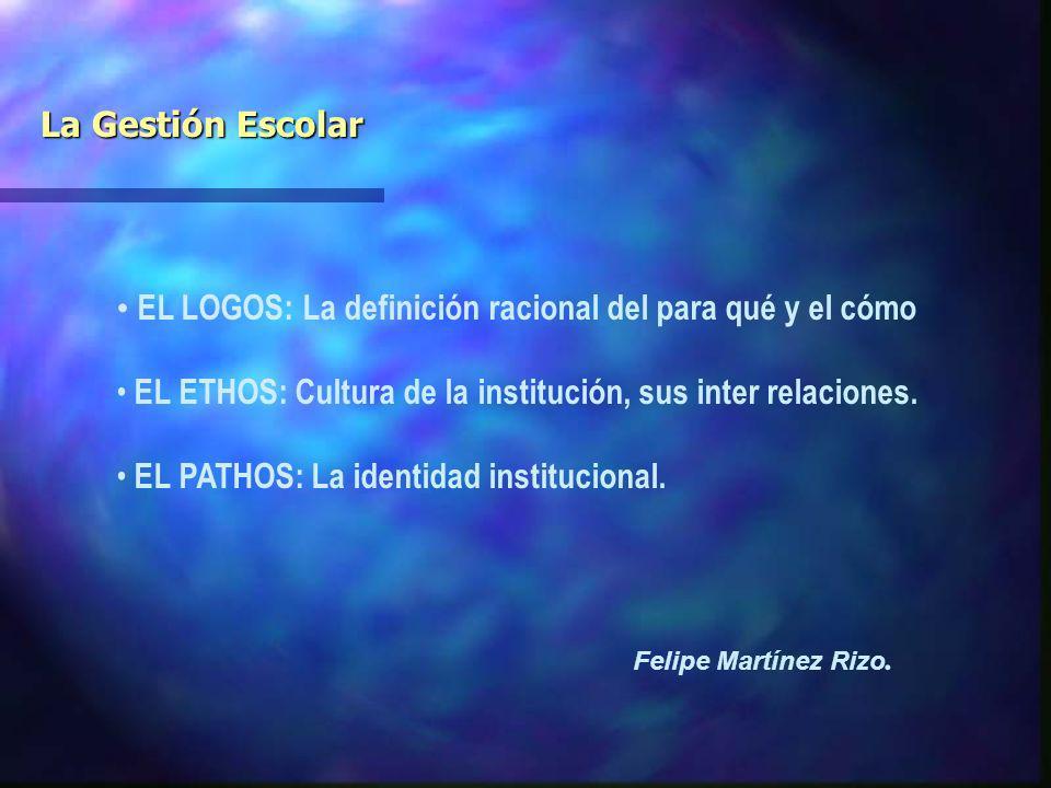 EL LOGOS: La definición racional del para qué y el cómo