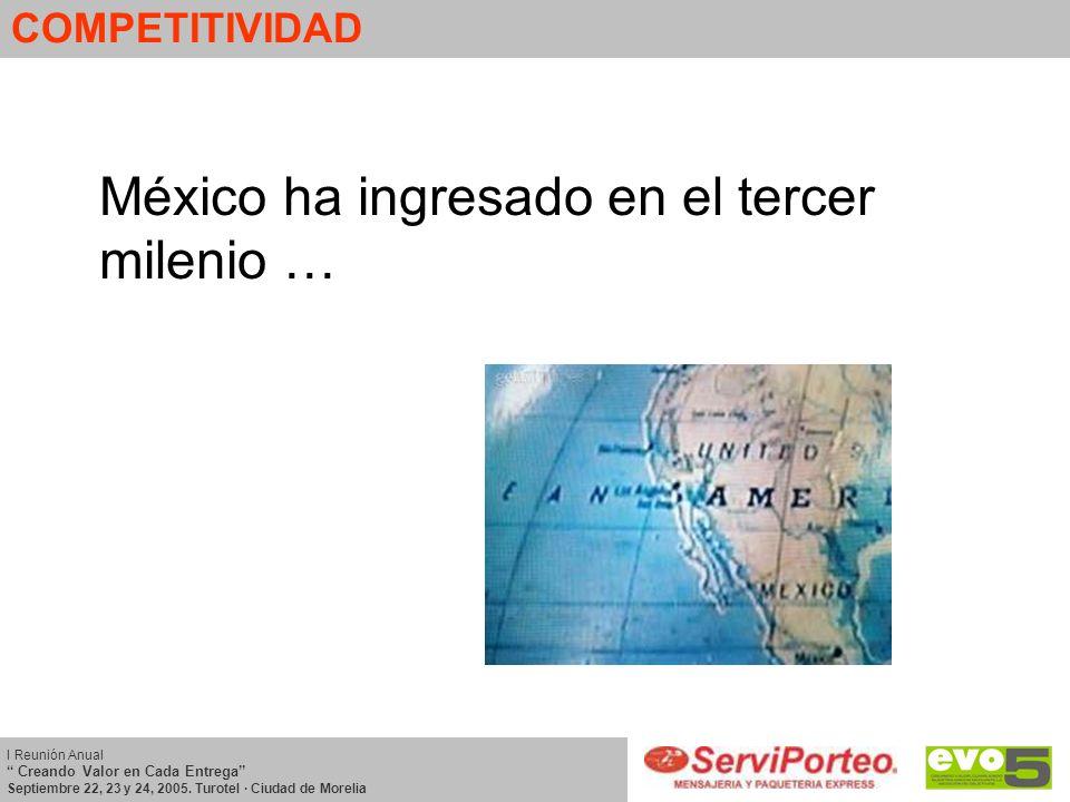 México ha ingresado en el tercer milenio …
