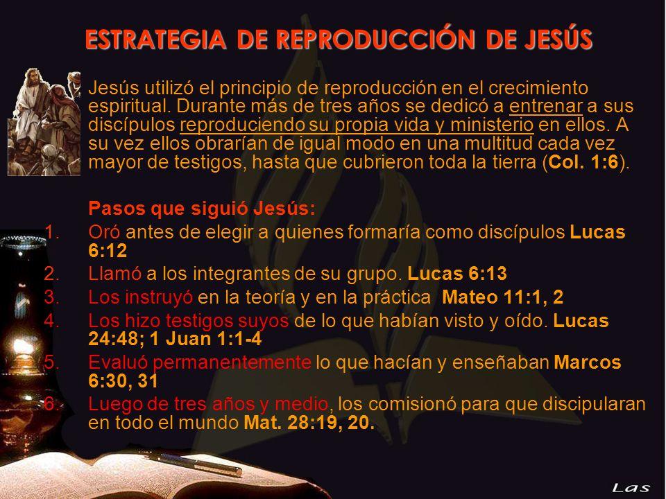 ESTRATEGIA DE REPRODUCCIÓN DE JESÚS