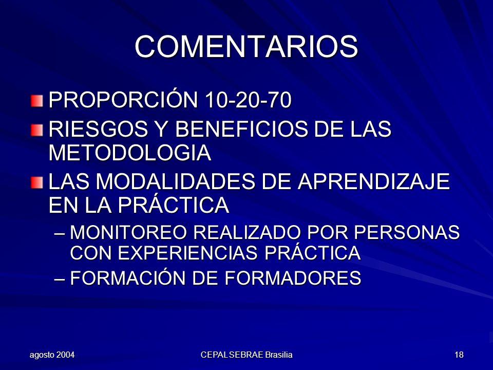 COMENTARIOS PROPORCIÓN 10-20-70